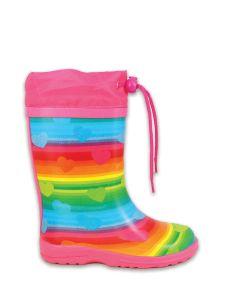 Gummistiefel Regenbogen